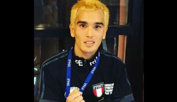 Nicolás Young, medalla de plata en el Mundial IFMA